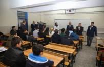 OKUL BİNASI - Seyyid Burhanettin Mesleki Ve Teknik Anadolu Lisesi Öğrencilerin Konuğu Oldu