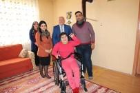 Sungurlu Belediyesi'nden Tekerlekli Sandalye Yardımı