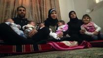 KADıOĞLU - Suriyeli Aile Türkiye Sevgisini Dördüzlerinde Yaşatıyor