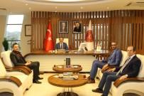 Türk Eğitim Sen Şube Başkanı Urgenç'ten Rektör Bağlı'ya Ziyaret