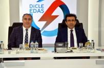 TÜRKIYE ELEKTRIK DAĞıTıM - Vali Güzeloğlu'ndan Dicle Elektrik'e Ziyaret