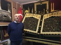 MUKAVVA - Yasin Suresi'ni 50 Bin Metre Sim Sırma Kullanarak Nakşetti