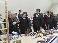 AK Parti Kadın Kolları Genel Başkan Yardımcısı, Kahramanmaraş Büyükşehir Belediyesini Ziyaret Etti
