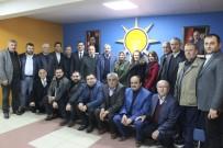 HÜSEYIN ARSLAN - AK Parti Taşköprü Teşkilatı'ndan, İl Başkanı Ünlü'ye Hayırlı Olsun Ziyareti