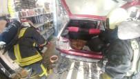Araç Tamiri Sırasında LPG'den Sızan Gaz Alev Aldı Açıklaması 1 Yaralı