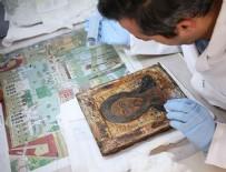 AYASOFYA MÜZESI - Ayasofya'nın tarihi ikonalarına konservasyon