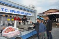 PAZARCI - Belediyeden Kapalı Pazar Yeri Esnafına Çorba İkramı