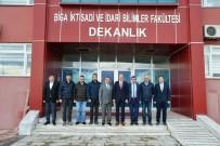 Biga TSO'dan Prof. Dr. Bünyamin Bacak'a Ziyaret