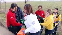 ABANT İZZET BAYSAL ÜNIVERSITESI - Bolu'da Trafik Kazası Açıklaması 1 Yaralı