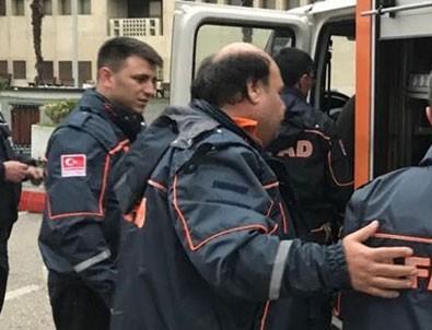 Bursa Adliyesi'nde kimyasal madde şişesi patladı
