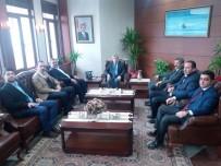 İŞİN ASLI - Çaturoğlu'dan Vali Çınar'a Ziyaret