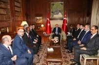 PARIS - Cumhurbaşkanı Erdoğan, İslam Konseyi Temsilcilerini Kabul Etti