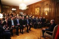 PARIS - Cumhurbaşkanı Erdoğan, Türk Toplumu Temsilcilerini Kabul Etti