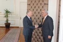 AKSAKAL - DSP Genel Başkanı Tekirdağ Valisini Ziyaret Etti