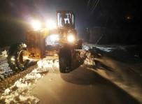 AFET KOORDINASYON MERKEZI - Kahramanmaraş Büyükşehir Belediyesi'nin Kar Mesaisi Başladı