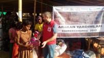 Kahramanmaraş'ın Yardımları Arakan'a Ulaştı