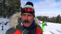 Kars'ta Snowboard Yarışları