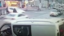 FARABI - Kocaeli'deki Trafik Kazası Güvenlik Kamerasında