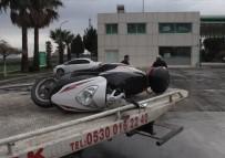 İNCIRLIK - Otomobilin Altında Kalan Motosikletli Hayatını Kaybetti