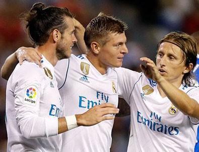 Real Madrid farklı kazandı