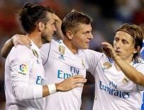 REAL MADRID - Real Madrid farklı kazandı