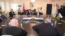 GÜLTEKİN UYSAL - Saadet Partisi'nden DP'ye Ziyaret