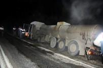Tankerden Yola Asit Aktı