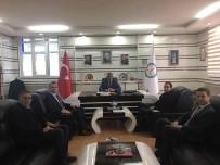 FERIT KARABULUT - TKDK Koordinatörü Ahmet Yazar, Başkan Ferit Karabulut'u Ziyaret Etti
