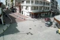 ELEKTRİK DİREĞİ - Trafik Kazaları MOBESE Kameralarına Yansıdı