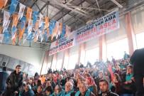 AK Parti Nevşehir İl Kongresinde Dikkat Çeken Pankart