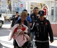 KOKAIN - Antalya'da Kundaktaki Bebekle Uyuşturucu Ticareti