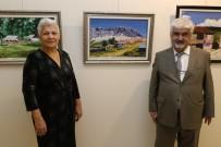 YAĞLıBOYA - Antalyalı Ressamlardan Mersin'de Resim Sergisi
