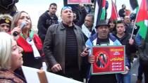 YUMURTA - Filistinliler, Kudüs Rum Ortodoks Patriği Theophilus'u Protesto Etti