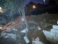 Kahramanmaraş'ta İstinat Duvarı Çöktü