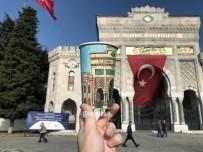 GALATA - Kahve Bardaklarına İstanbul'u Çizdi
