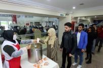 MEHMET ACAR - Kütüphanede 'Ders Arası Çorba Molası'