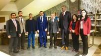Milli Eğitim Müdürü Demir, Türk Eğitim Sen'i Ziyaret Etti
