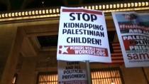 WASHINGTON - New York'ta 'Filistinli Cesur Kız' Temimi'ye Destek Gösterisi