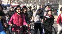 KARAKÖSE - Öğrenciler Kudüs İçin Pedal Çevirdi