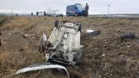 Otomobil Şarampole Devrildi Açıklaması 2 Yaralı