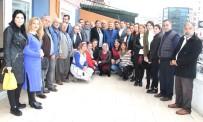 KAHVEHANE - Özkan Ve Tezcan, AK Parti Mezitli'de Partililerle Buluştu