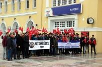 KAYSERİ LİSESİ - Sarıkamış Treni Kayseri'den Yola Çıktı