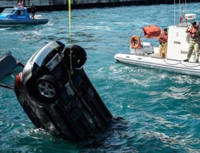 Sarıyer'de otomobil denize uçtu: 1 ölü
