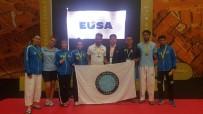 GÜMÜŞ MADALYA - UÜ Spor Takımları Avrupa'ya Damga Vurdu