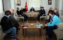 VAN YÜZÜNCÜ YıL ÜNIVERSITESI - Van Trabzonsporlular Derneği'nden Vali Zorluoğlu'na Ziyaret