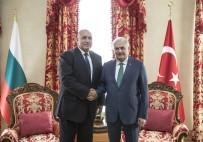 DOSTLUK KÖPRÜSÜ - Başbakan Yıldırım, Bulgaristan Başbakanı Borisov İle Görüştü