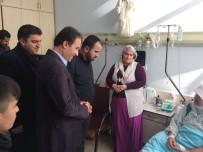Başkan Tekin'den Hasta Ziyareti