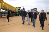 Çalışkan Açıklaması 'Sanayi Köprülü Kavşağı 1-2 Hafta İçerisinde Trafiğe Açılacak'