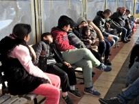DALYAN - Çeşme'de 30 Kaçak Göçmen Yakalandı