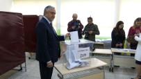 MUSTAFA AKINCI - Cumhurbaşkanı Akıncı Oyunu Kullandı